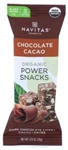 Navitas Organics Chocolate Cacao Power Snack - 1.05 Oz.