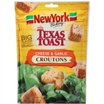 New York Texas Toast Cheese and Garlic Croutons - 5 oz.