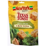 New York Texas Toast Zesty Italian Croutons - 5 oz.