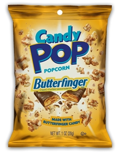 Butterfinger Candy Pop Popcorn - 1 Oz.