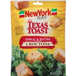New York Texas Toast Garlic and Butter Croutons - 5 oz.