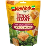 New York Texas Toast Sea Salt and Pepper Croutons - 5 oz.