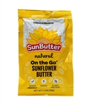 On The Go Pouch of Natural SunButter