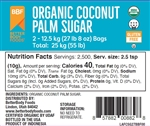 Organic Coconut Sugar - 55 Pound