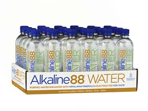 Alkaline Purified Water Enhanced With Himalayan Minerals And Electrolytes - 500 Ml.