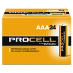 Duracell Procell Alkaline Batteries - Major Cells, AAA, Alkaline, PC2400BKD