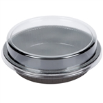 Smooth Wall Clear Dome Lid - 8.17 in. x 1.47 in.