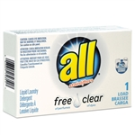 All Free Clear Liquid Laundry Detergent - 2 oz.
