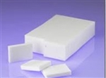 Poly White Block Sponge - 2.8 in. x 5 in.x 0.91 in.