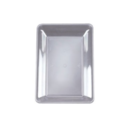 EMI Yoshi Party Tray Clear Rectangular Platter - 10 in. x 14 in.