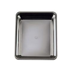 EMI Yoshi Party Tray Rectangular Black Platter - 10 in. x 8 in.