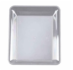 EMI Yoshi Party Tray Rectangular Clear Platter - 10 in. x 8 in.