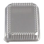 EMI Yoshi Clear Rectangular Pet Lid - 10 in. x 8 in.