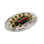 EMI Yoshi 12 Eggs Deviled Clear Tray - 11 in.x16 in.
