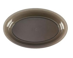 EMI Yoshi Smoke Party Tray Oval Platter - 11 in. x 16 in.