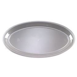 EMI Yoshi Clear Party Tray Oval Platter - 14 in. x 25 in.