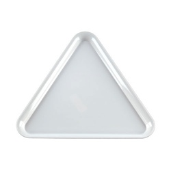 EMI Yoshi Party Tray White Triangle Platter - 16 in.