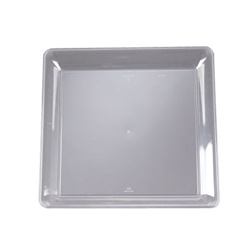 EMI Yoshi Party Tray Clear Square Platter - 16 in. x 16 in.