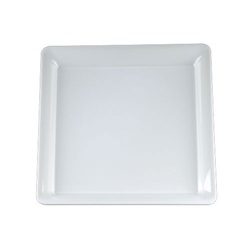 EMI Yoshi Party Tray White Square Platter - 16 in. x 16 in.