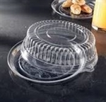 EMI Yoshi Clear Round Tray with Dome OPS Lid - 12 in.