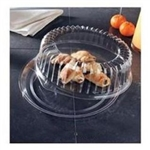 EMI Yoshi Round Clear Tray with Dome Pet Lid - 12 in.