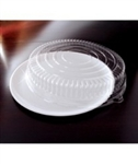 EMI Yoshi Round Clear Tray with Dome Pet Lid - 16 in.
