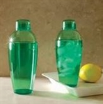 EMI Yoshi Cocktail Shaker Assorted Colors Green - 14 Oz.
