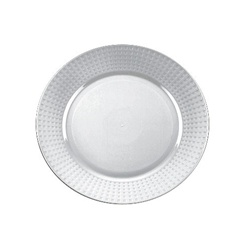 EMI Yoshi Majestic Dinner Plate Clear - 10.25 in.