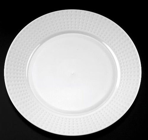 & EMI Yoshi Majestic Dinner Plate White - 10.25 in.