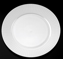 EMI Yoshi Majestic Dinner Plate White - 10.25 in.