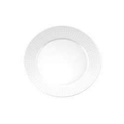EMI Yoshi Majestic Dinner Plate White - 9 in.