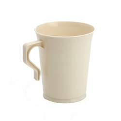 EMI Yoshi Polypropylene Coffee Mug Bone - 8 Oz.