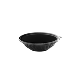 EMI Yoshi Prepserve Shallow Pet Black Bowl - 24 Oz.