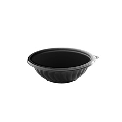 EMI Yoshi Prepserve Shallow Pet Bowl Black - 32 Oz.