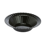 EMI Yoshi Resposable Black Plastic Dessert Bowl - 12 oz.