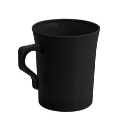 EMI Yoshi Resposable Black Coffee Mug - 8 oz.