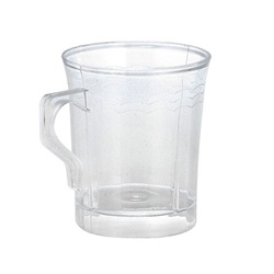 EMI Yoshi Resposable Clear Coffee Mug - 8 oz.