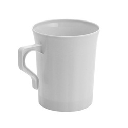 EMI Yoshi Resposable White Coffee Mug - 8 oz.