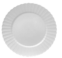 EMI Yoshi Resposable White Dessert Plate - 6 in.
