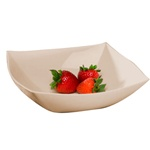 EMI Yoshi Square Serving Bowl Bone - 128 Oz.