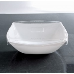 EMI Yoshi PET Lid For Square Serving Bowl Clear - 128 Oz.