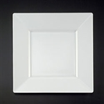 EMI Yoshi Squares Dinner Plate White - 10.75 in.