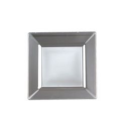 EMI Yoshi Squares Salad Plate Clear - 8 in.