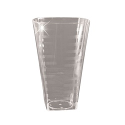 EMI Yoshi Extra Heavy Weight Square Tumbler Clear - 10 Oz.