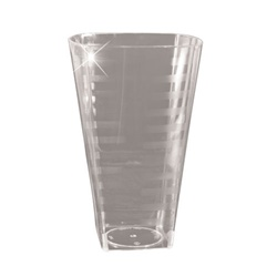 EMI Yoshi Extra Heavy Weight Square Tumbler Clear - 12 Oz.