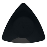 EMI Yoshi Triangle Salad Plate Black - 7 in.