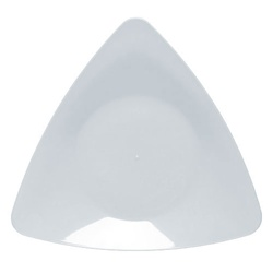 EMI Yoshi Triangle Salad Plate Clear - 7 in.