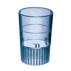 EMI Yoshi Neon Lights Shooter Glass Blue - 1 Oz.