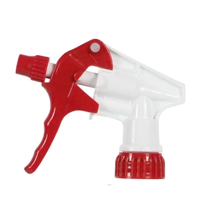 Red and White Ultra Trigger Sprayers with 9.25 in. Dip Tube