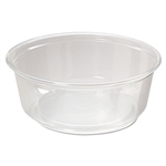 Fabri-Kal Pro-Kal Microwavable Clear 8 oz. Deli Containers